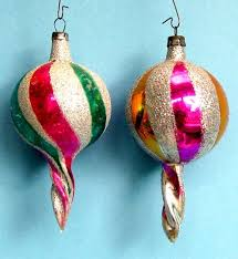 1208 best vintage christmas ornaments images on pinterest