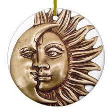 sun moon ornaments keepsake ornaments zazzle