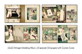 10x10 album vintage 10x10 album template 10 spread20 page design