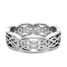 men celtic rings images Custom celtic wedding band for men and women in gold and platinum jpg