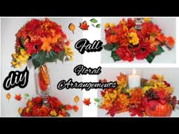 Fall Wedding Aisle Decorations - diy fall floral arrangement dollar tree fall wedding