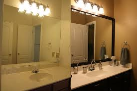 Diy Mirror Frame Bathroom Diy Bathroom Mirror Frame Tile Interior Design Ideas