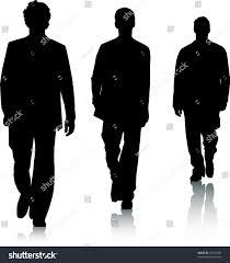 lime silhouette silhouettes men stock vector 53235430 shutterstock