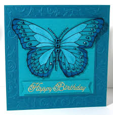 handmade greeting card from jenfa cards square format