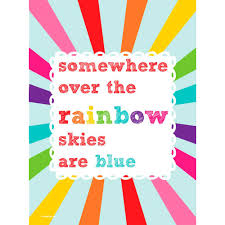 somewhere over the rainbow nostalgic art print u2013 pearl and earl