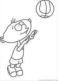 88 playing boy coloring coloring free basketball