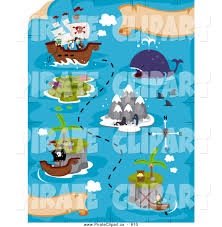 Treasure Maps Royalty Free Stock Pirate Designs Of Treasure Maps