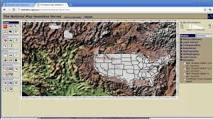 National Map Viewer How To Import Realistic Terrains Into Vue Youtube