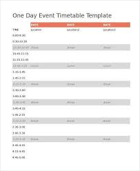 timetable template sample revision timetable template 9 free