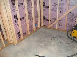 cool basement floor underlayment plan with hardwood or plastic