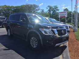 used certified one owner 2017 nissan armada sv 4x4 w navigation