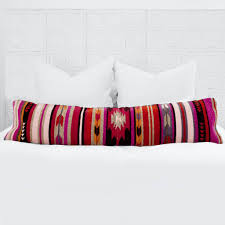 lumbar decorative pillow colorful geometric pattern u2013 the citizenry