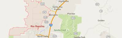 New Mexico Cities Map Service Area Jones Mechanical Plumbers In Rio Rancho
