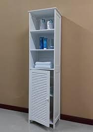 Tall Narrow Linen Cabinet Tall Narrow Linen Cabinet Amazon Com