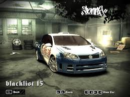 nfsmw lexus is300 nfs center need for speed most wanted blacklist