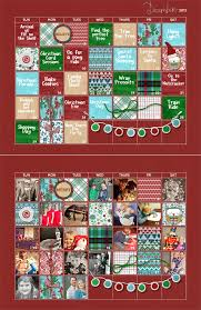 download december 2013 advent calendar template