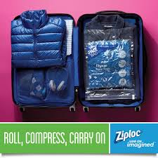 ziploc space bag travel 5pk vacuum bags walmart com