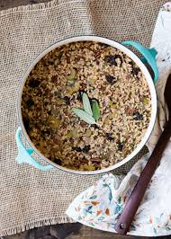 brown rice dressing with cherries and pecans cafe johnsonia