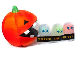 choice of airblown halloween inflatables