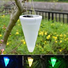 aliexpress com buy solar led tree hanging lights color changing
