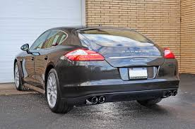 panamera porsche black awe tuning porsche panamera s 4s touring edition exhaust system