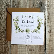 wedding invitations liverpool botanic herb wedding invitation by vanilla retro stationery