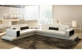 canape angle loft canapé d angle en cuir italien 6 7 places loft blanc mobilier privé