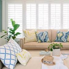 Sofa With Pillows Beige Sofa Design Ideas