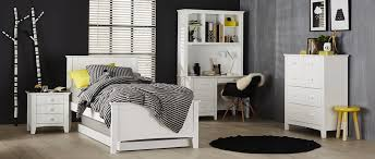 Bedroom Furniture Toowoomba Noah Bed Frame White Bedroom Furniture Forty Winks