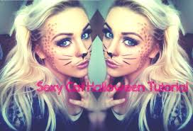 beginners halloween cute cat makeup tutorial