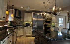 black kitchen countertops with white cabinets cosmic black granite countertops kitchen design ideas