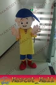 mall147 custom caillou mascot costume characters costumes kids