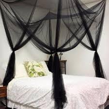 couvert lit 2017 moustique d 礬t礬 net palais noir rideau lit adultes couvert