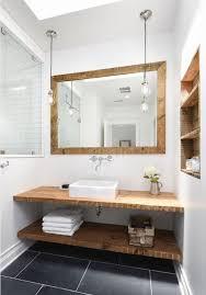 Bathroom Wood Vanities Best 25 Open Bathroom Vanity Ideas On Pinterest Diy Bathroom