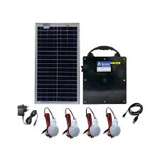 solar home lighting system 12v 20watts solar panel u0026 12v 14ah