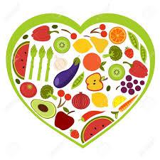 14396149 frutta e verdura forma di cuore archivio fotografico jpg