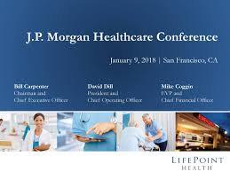 Seeking Alt J Lifepoint Hospitals Lpnt Presents At 36th Annual J P