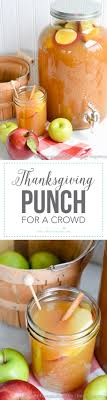 thanksgiving punch for a crowd i nap time