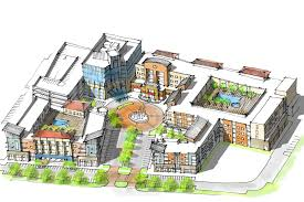 Mixed Use Building Floor Plans by Mixed Use Development Vlk Architects
