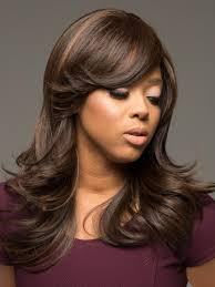 frosted hair color brie wig by vivica fox long layered wigs com the wig experts