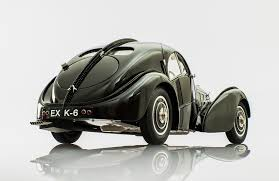 bugatti type 57sc atlantic bugatti 57sc atlantic 1937 in black by cmc in scale 1 18 racing