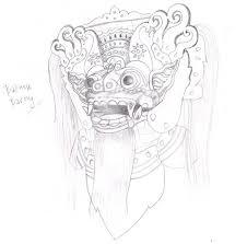 tutorial masking photoshop indonesia drawing a balinese barong mask photoshop tutorial