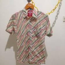 Baju Coffeepark kemeja cable coffee park original bnwt preloved fesyen pria