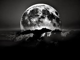 black and white moon wallpaper by hd wallpapers daily 1024 768 black