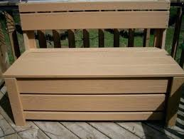 Garden Bench With Storage Outside Bench Storage Outdoor Waterproof Storage Bench