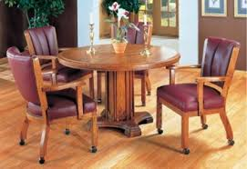Kitchen Table With Caster Chairs Dinette Sets Contemporary Dinettes Dinette Tables U0026 Chairs