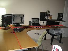 image of galant corner desk right dimensions