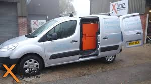 peugeot partner try the small peugeot partner 2 man 350ltr d i window cleaning system youtube