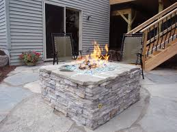 Diy Gas Firepit How To Build A Gas Pit Modern Outdoor Diy Design And