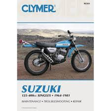amazon com clymer suzuki 125cc 400cc singles 1964 1981 automotive